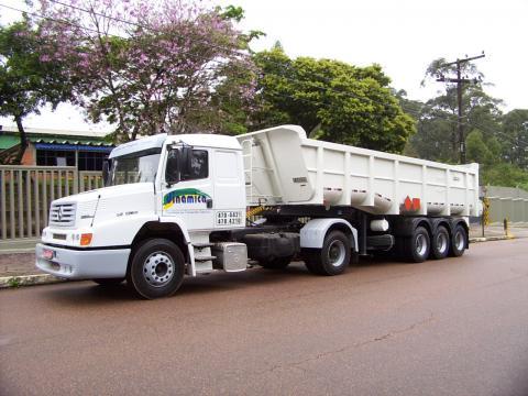 Caminh  O Truck   Sistema Roll On Roll Off   Capacidade Para At